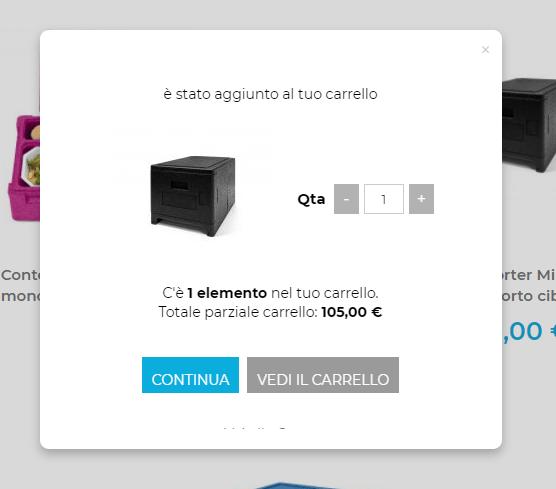 aggiungi al carrello polibox ilwebcreativo web agency Ecommerce Checkout Design