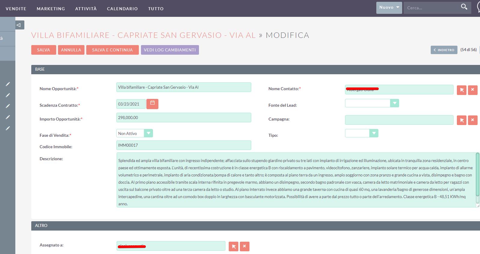 familyre suitecrm ilwebcreativo web agency Integrazione piattaforme e sincronizzazione