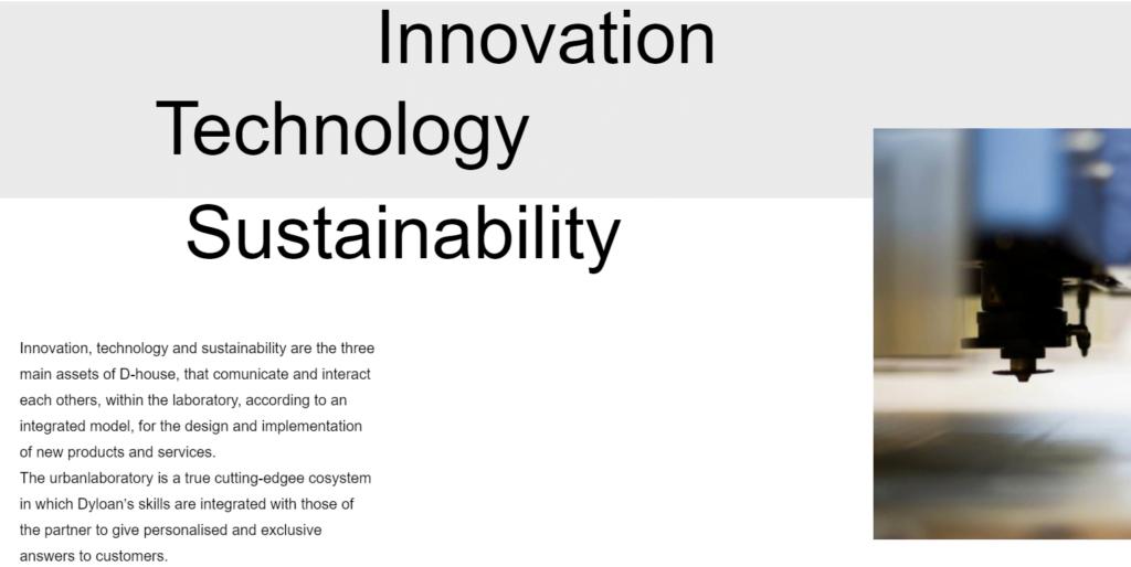 innovazione d-house